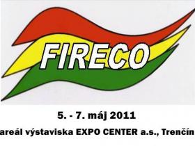 FIRECO  10. ročník medzinárodnej výstavy hasičskej, záchranárskej a zabezpečovacej techniky