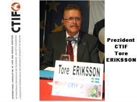 Nový prezident CTIF p. Tore EROKSSON zo Švédska