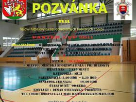 OHZ Rimavské Brezovo  Vás pozýva na PANTER  CUP 2011  DHZ, OHZ