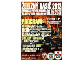 Železný hasič 2012