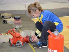 Halové majstrovstvá mladých hasičov Svit 2016