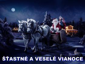 Šťastné a veselé Vianooce.